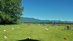 Rally course ready to go